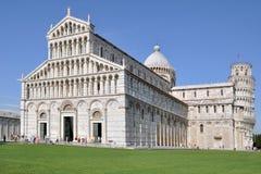 Das Innere von Pisa stockfotos