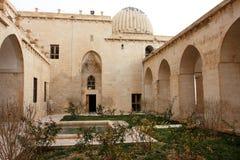 Das innere Yard des alten madrasah Lizenzfreies Stockbild