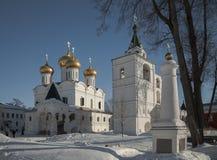 Das Ipatiev-Kloster der Heiligen Dreifaltigkeit nach innen Stockbilder