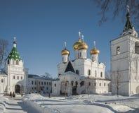 Das Ipatiev-Kloster der Heiligen Dreifaltigkeit nach innen Lizenzfreie Stockfotografie