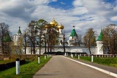 Das Ipatiev Kloster, Kostroma, HF Lizenzfreies Stockfoto