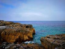 Das irische Meer Stockbilder