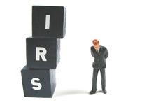 Das IRS wartet Sie Lizenzfreies Stockbild