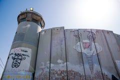 Das israelische Westjordanland Lizenzfreies Stockfoto