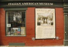 Das italienische amerikanische Museum Stockbilder