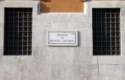 Das italienische Parlament Lizenzfreie Stockfotos