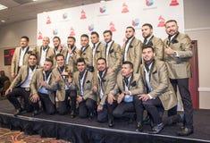 Das 16. jährliche lateinische Grammy Awards Lizenzfreie Stockfotografie