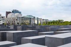 Das jüdische Denkmal in der Zentrale Lizenzfreies Stockfoto