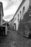 Das jüdische Viertel in TÅ™ebÃÄ- lizenzfreie stockfotos