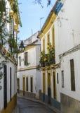 Das jüdische Viertel von Cordoba Lizenzfreies Stockfoto