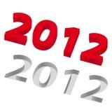 Das Jahr 2012 Lizenzfreie Abbildung