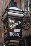 Das Jamaika-Wein-Haus in London Lizenzfreie Stockbilder