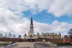 Das Jasna Gora-Schongebiet in Czestochowa, Polen Lizenzfreies Stockbild