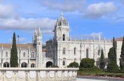 Das Jeronimos-Kloster Stockbild