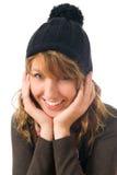 Das junge attraktive Mädchen Lizenzfreies Stockfoto