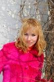 Das junge schöne Mädchen Lizenzfreies Stockbild