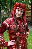 Das junge ukrainische Mädchen Stockfotos