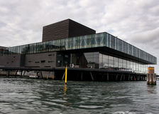 Das königliche dänische Schauspielhaus bei Nyhavn in Kopenhagen Lizenzfreie Stockfotos
