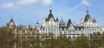 Das königliche Horseguards, London, Großbritannien. Lizenzfreie Stockfotografie