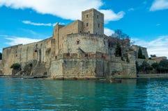 Das königliche Schloss Colliore Stockfotografie