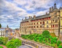 Das königliche Schloss von Blois im Loire Valley, Frankreich Lizenzfreies Stockbild