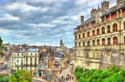 Das königliche Schloss von Blois im Loire Valley, Frankreich Lizenzfreies Stockfoto