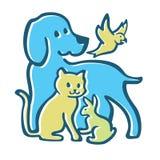 Das kühle Design des Familienhaustieres stockbild