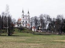 Das Kalvarienberg-Kirche-Erfindung-Kreuz Stockfoto