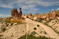 Das Kamel, Cappadocia Stockbild