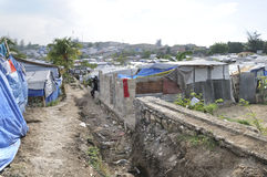 Das Kanalisationsystem. stockbild