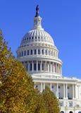 Das Kapitol-Gebäude im Washington DC, Hauptstadt der Vereinigten Staaten von Amerika Lizenzfreie Stockfotografie