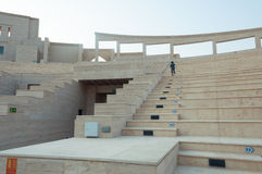 Das Katara-Amphitheater Stockfotos