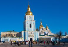 Das katholische Erbe von Kiew, Ukraine lizenzfreie stockbilder