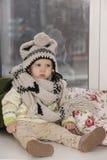 Das Kind im Hut Stockfoto
