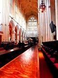Das Kirchenschiff an der Bad-Abtei Lizenzfreies Stockbild