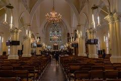 Das Kirchenschiff der Kathedralen-Kirche von Christus Marina Lagos lizenzfreies stockbild
