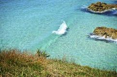 Das klare Wasser am Punkt-Ausblick Stockbilder