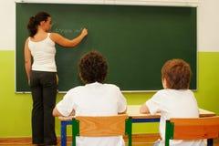 Das Klassenzimmer Stockbild