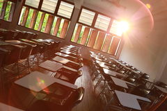 Das Klassenzimmer Stockfoto