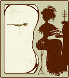 Das Klavier Lizenzfreies Stockfoto