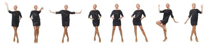 Das Kleidungskonzept der Frau in Mode Stockfotografie