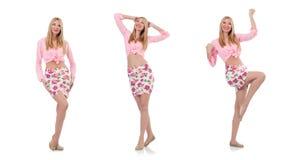 Das Kleidungskonzept der Frau in Mode stockfoto