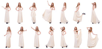Das Kleidungskonzept der Frau in Mode Lizenzfreies Stockfoto