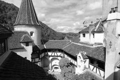 Das Kleie-Schloss. Stockbilder