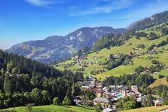 Das kleine Dorf Lizenzfreies Stockfoto