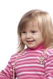 Das kleine Kind mit Kornen Stockbild