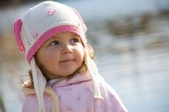Das kleine Mädchen lizenzfreie stockfotografie