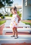 Das kleine Mädchen Stockfotografie