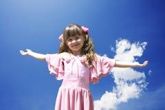 Das kleine Mädchen 3 Stockbild
