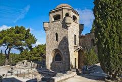 Das Kloster auf den filerimos Lizenzfreies Stockfoto